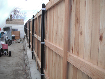 Hot Dipped Galvanized Nails Cedar Fence